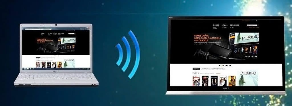 Подключаем ноутбук к телевизору разными способами - через WiFi и Ethernet